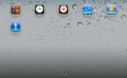 Belfry per iPad 6 icone utili