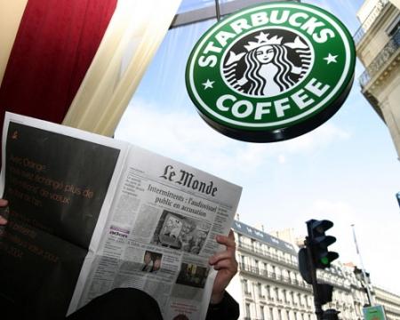 Autogrill con Starbucks in Europa