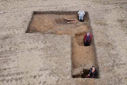 Misterioso edificio dell'epoca romana a forma di Y