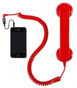 Cornetta telefonica vecchio stile telefono per iphone