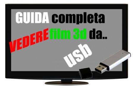 Vedere film 3D da USB
