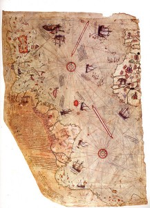 La misteriosa cartina di Piri Reis