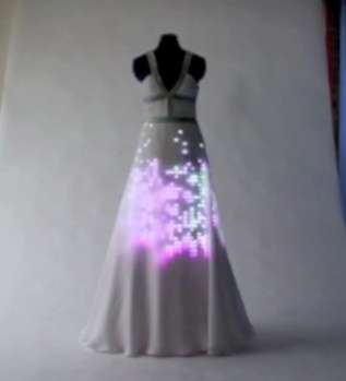 Aurora Dress l'abito con Led e Swarovski