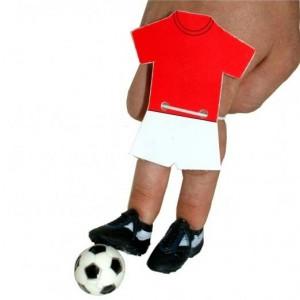 Kit per giocare a calcio con le dita