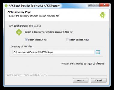 Installazione Apk, gestione e backup applicazioni da pc [android]