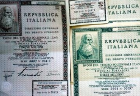 Btp Italia: raccolti 7,29 miliardi