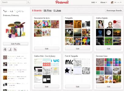 Pinterest può vendere le tue foto!