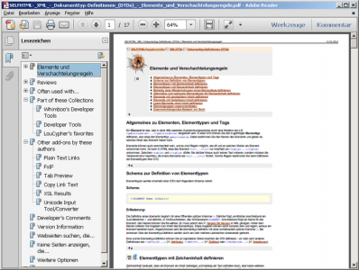 Stampa, converti siti web in un file PDF