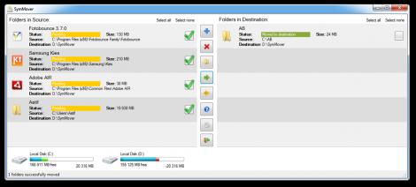 Spostare programmi installati su altro hard disk – SymMover