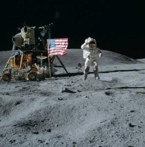 Le foto del primo uomo sulla luna ?