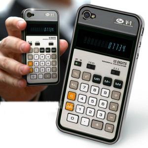 Case-calcolatrice per iPhone 4 e 4S