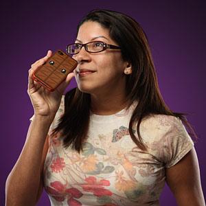 Case per iPhone al profumo di cioccolato