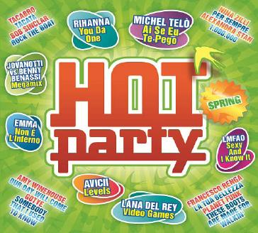 Compilation pop dance Hot Party Spring 2012