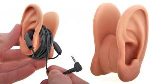 Avvolgicavo a forma di orecchie