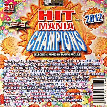 Hit mania champions  2012