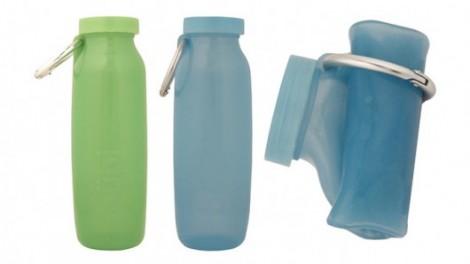 Bottiglia flessibile in silicone Bübi Bottle
