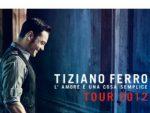 Tiziano Ferro: date e luoghi dei concerti estivi 2012
