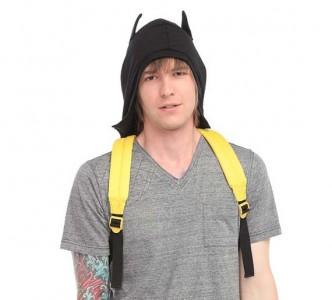 Zaino di Batman con cappuccio integrato