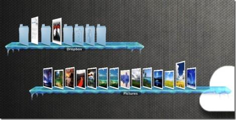 DesktopShelves: Mensole desktop Mac con cartelle interattive