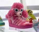 Scarpe con peluche rosa JS Poodle
