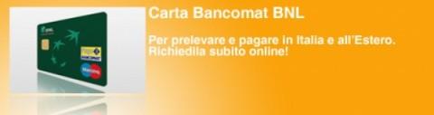 Carta Bancomat BNL