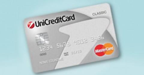 UnicreditCard Classic lo strumento di pagamento più rapido
