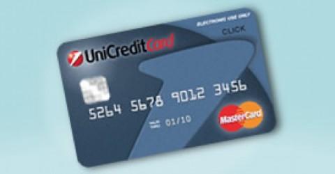 UnicreditCard Click la prepagata senza conto corrente