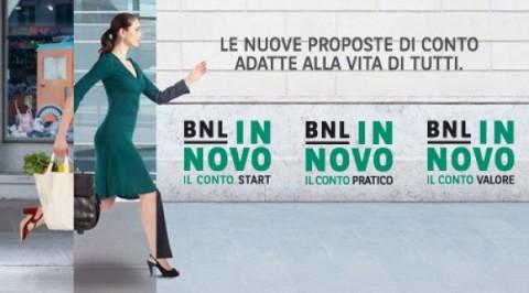 BNL In Novo Il Conto Valore premia i più fedeli