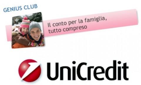Conto corrente Unicredit Genius Club