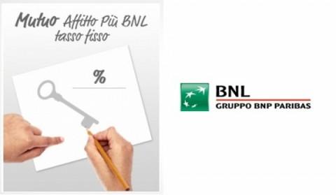 Mutuo Affitto più BNL Tasso Fisso