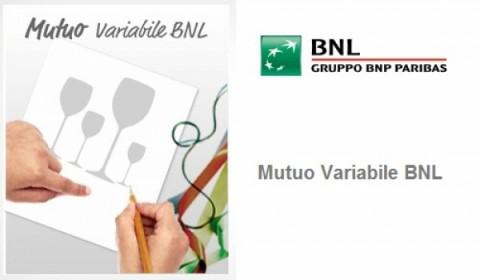 Più convenienza con Mutuo Variabile BNL