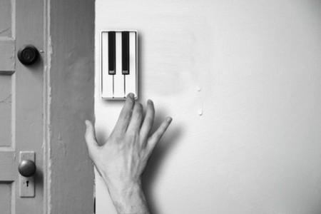 Pianobell il campanello a forma di pianoforte