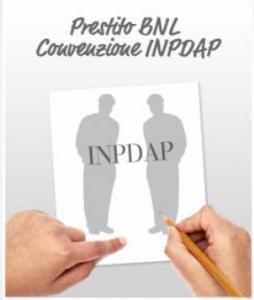 Prestito BNL Convenzione INPDAP
