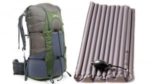 Air Beam il materassino per zaini da trekking