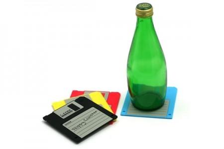 Sottobicchieri da collezione Floppy Disk