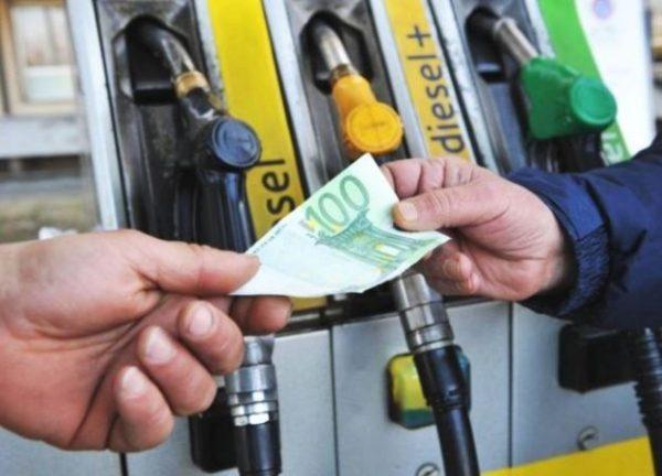 Prezzo benzina oltre 2 euro