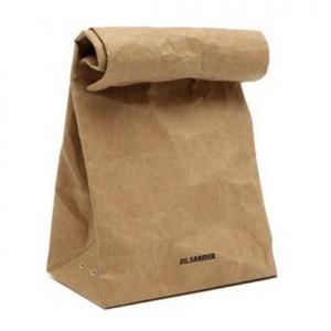 Il sacchetto di carta diventa una borsa