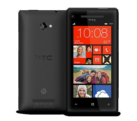 HTC 8X e HTC 8S immagini e dettagli