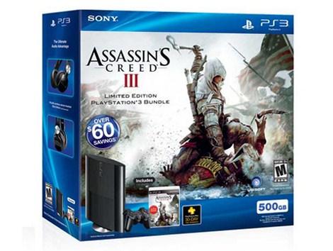 Nuova PS3 slim bundle Assassin's Creed 3