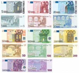 Primo restyling per l'euro