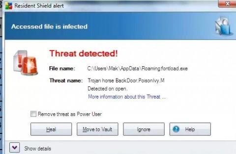 Trojan Poison Ivy: patch Microsoft
