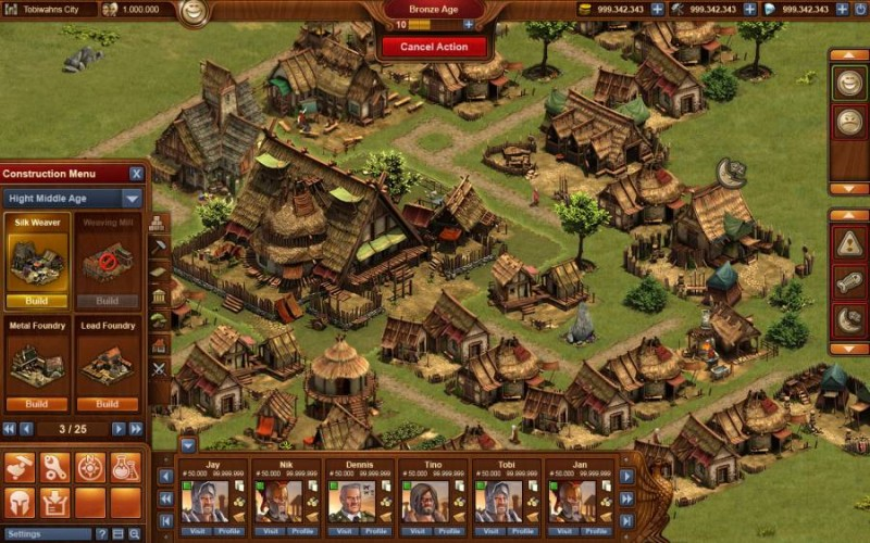 forge of empires gioco online
