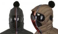 giacca occhiali da neve
