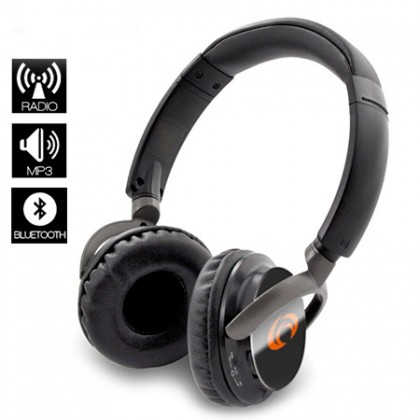Cuffie Radio Mp3 Bluetooth TechMade