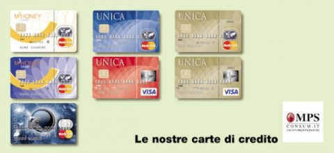 Carta di credito Unica Consum.it