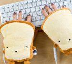Toast di tessuto scaldamani