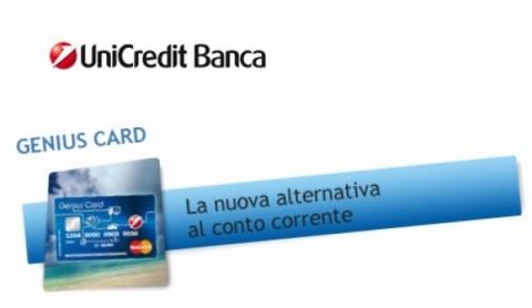 Unicredit Genius Card all'estero