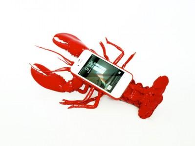 Lobster, case per iPhone a forma di aragosta
