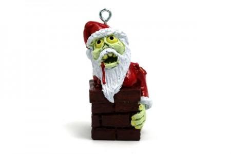 Addobbo Babbo Natale zombie