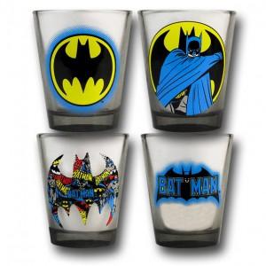 Set di bicchieri dedicato a Batman
